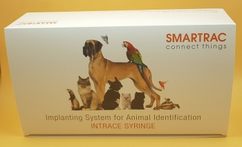 150x Smartrac Mini 1,4 x 8 mm Animal Identifikation Transponder Microchip