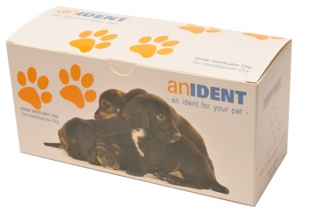 50x Anident Animal Identifikation Microchip ISO Transponder