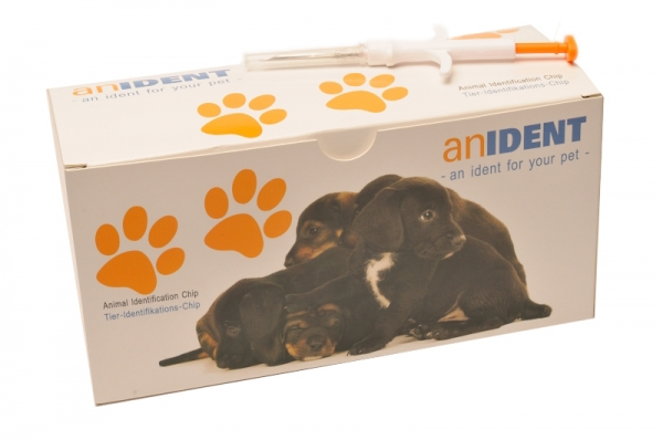 100x Anident Animal Identifikation Microchip ISO Transponder